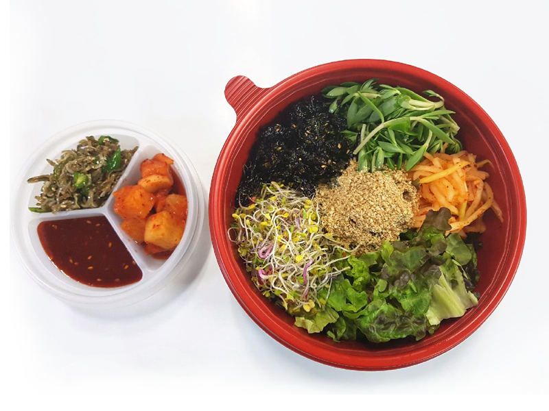 새싹 비빔밥